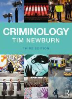 cover of Criminology