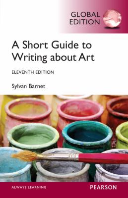 Cover of A Short Guide to Writing About Art
