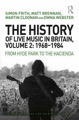 Cover of the Hitory of Live Music in Britain. Volume 2