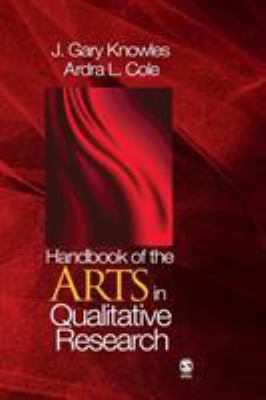 Cover of Handbook of the arts in qualitative research