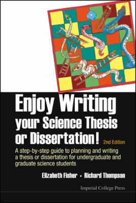 Cover image Enjoy writing your science thesis or dissertation