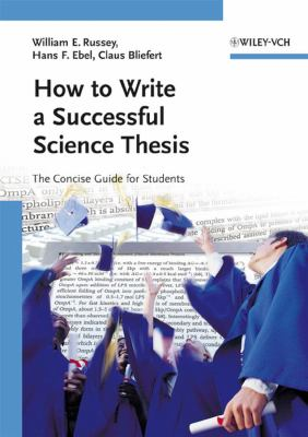 Cover image How to write a successful science thesis