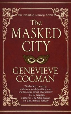 Cover image for The Masked city / [large print]