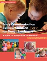 Cover image for Early communication skills for children with Down syndrome : a guide for parents and professionals