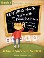 Cover image for Teaching math to people with Down Syndrome and other hands-on learners : basic survival skills