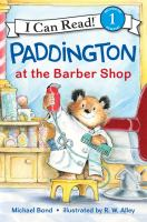 Cover image for Paddington at the barber shop