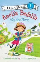 Cover image for Amelia Bedelia on the move