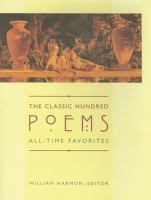 Cover image for The classic hundred poems : all-time favorites