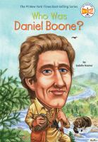 Cover image for Who was Daniel Boone?