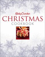Cover image for Betty Crocker Christmas cookbook.