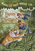 Cover image for Tigers at twilight