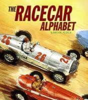 Cover image for The racecar alphabet