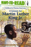Cover image for A lesson for Martin Luther King, Jr.