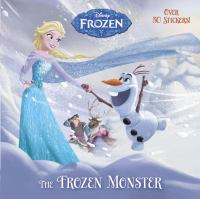 Cover image for The frozen monster