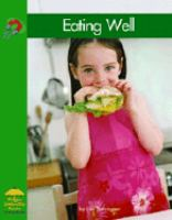 Cover image for Eating well