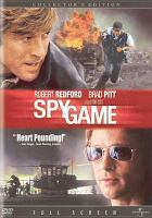 Cover image for Spy game
