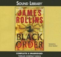Cover image for Black order