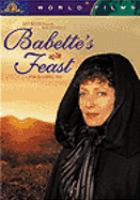 Cover image for Babette's feast Babettes gæstebud