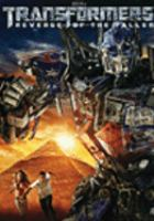 Cover image for Transformers. Revenge of the Fallen