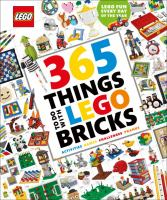 Cover image for 365 things to do with LEGO bricks