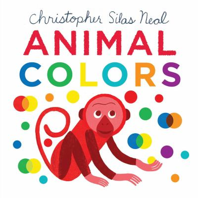 Cover image for Animal colors