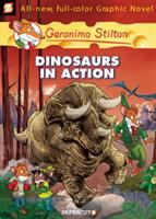 Cover image for Geronimo Stilton : dinosaurs in action!
