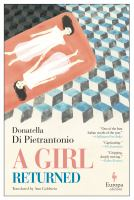 Cover image for A girl returned