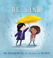 Cover image for Be kind