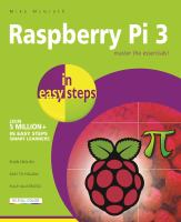 Cover image for Raspberry Pi 3 in easy steps
