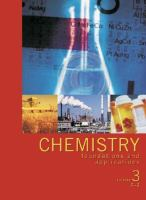 Cover image for Chemistry foundations and applications