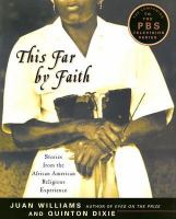 Cover image for This far by faith : stories from the African-American religious experience