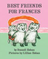 Cover image for Best friends for Frances