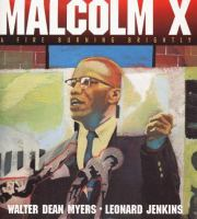 Cover image for Malcolm X : a fire burning brightly