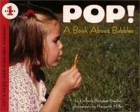 Cover image for Pop! : a book about bubbles