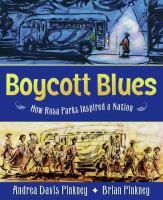 Cover image for Boycott blues : how Rosa Parks inspired a nation