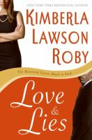 Cover image for Love and lies