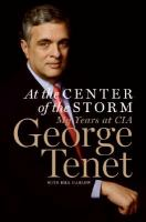 Cover image for At the center of the storm : my years at the CIA