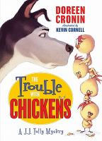 Cover image for The trouble with chickens :