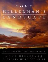 Cover image for Tony Hillerman's landscape : on the road with an American legend