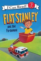 Cover image for Flat Stanley and the firehouse