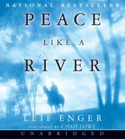 Cover image for Peace like a river