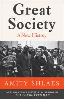 Cover image for Great society : a new history