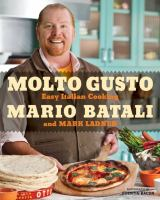 Cover image for Molto gusto : easy Italian cooking at home