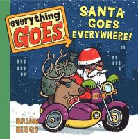 Cover image for Santa goes everywhere!