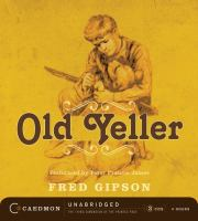 Cover image for Old Yeller