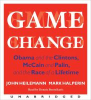 Cover image for Game change :