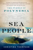 Cover image for Sea people : the puzzle of Polynesia