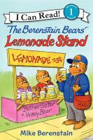 Cover image for The Berenstain Bears' lemonade stand