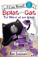 Cover image for Splat the Cat : the name of the game
