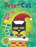 Cover image for Pete the Cat saves Christmas
